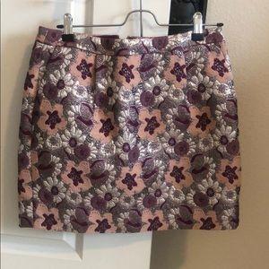 J.Crew Collection Jacquard Skirt